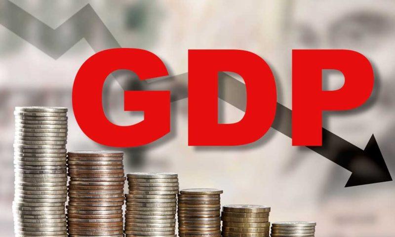 GDP मध्ये मोठी घसरण