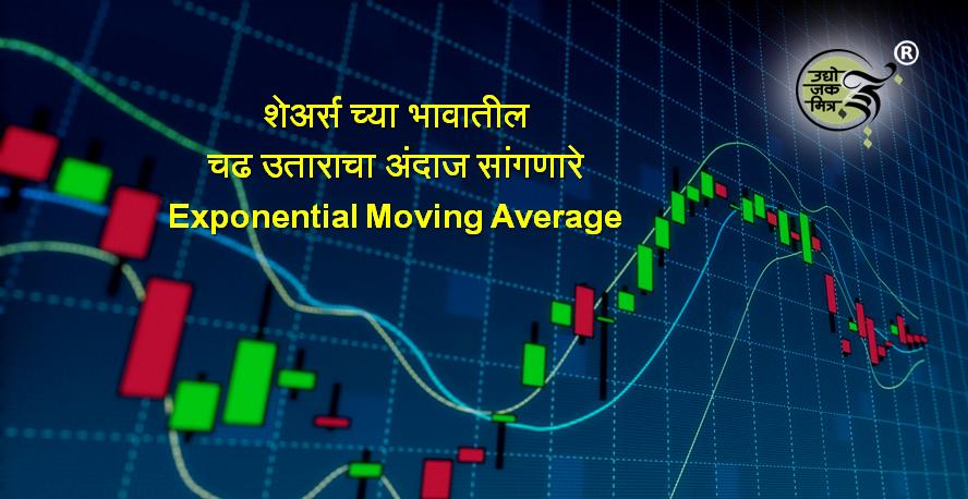 शेअर्स च्या भावातील चढ उताराचा अंदाज सांगणारे Exponential Moving Average