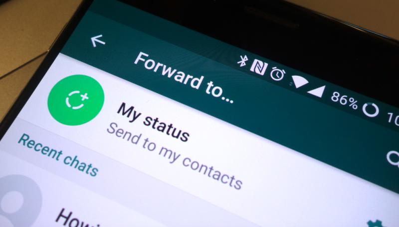 तुम्ही whtsapp वर काय फॉरवर्ड करता याचा तुमच्या यशाशी किती संबंध आहे ?